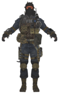 FBI Assault model BOII