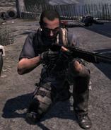 Loyalist with a Spas-12 MW3