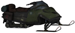 Snowmobile model MW2