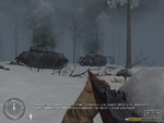 2 разбитых танка