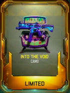 Into the Void Camouflage Supply Drop Card BO3