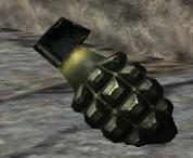 Mk 2 Grenade 3rd person CoD1