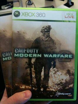 Modern Warfare 2 Official Boxart