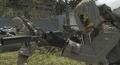 Commando Reflex Sight Suppressor Third Person BO