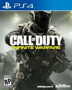Infinite Wafare PS4 Box Art (1)