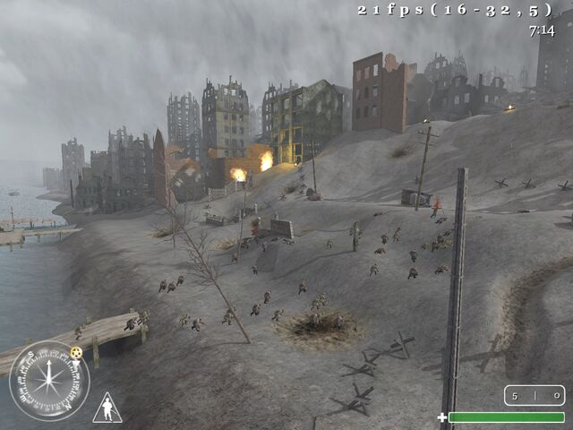Fighting in Stalingrad CoD