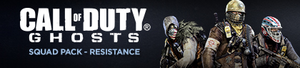 Squad-Pack Resistance Ghosts Banner