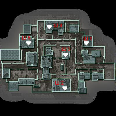 Backlot карта штабов