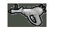 Ray gun icon BOZ