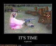 Teddy bears inbound