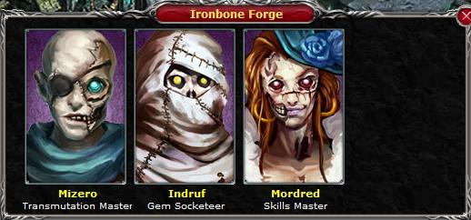 Undead Necrolis IronboneForge