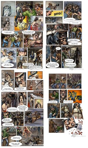 Call of Juarez comics