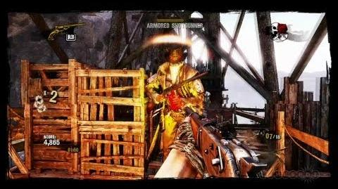 Arcade Mode Action - Call Of Juarez Gunslinger Gameplay (Xbox 360)