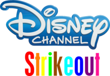 Disney Channel Strikeout logo