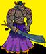 Goatman-samurai