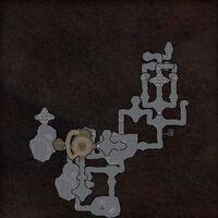 Treibh Caillte map