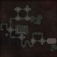 Cursed Tomb map