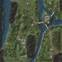 Pennine Mountains map