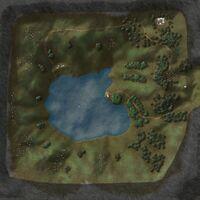 Llyn Barfog map