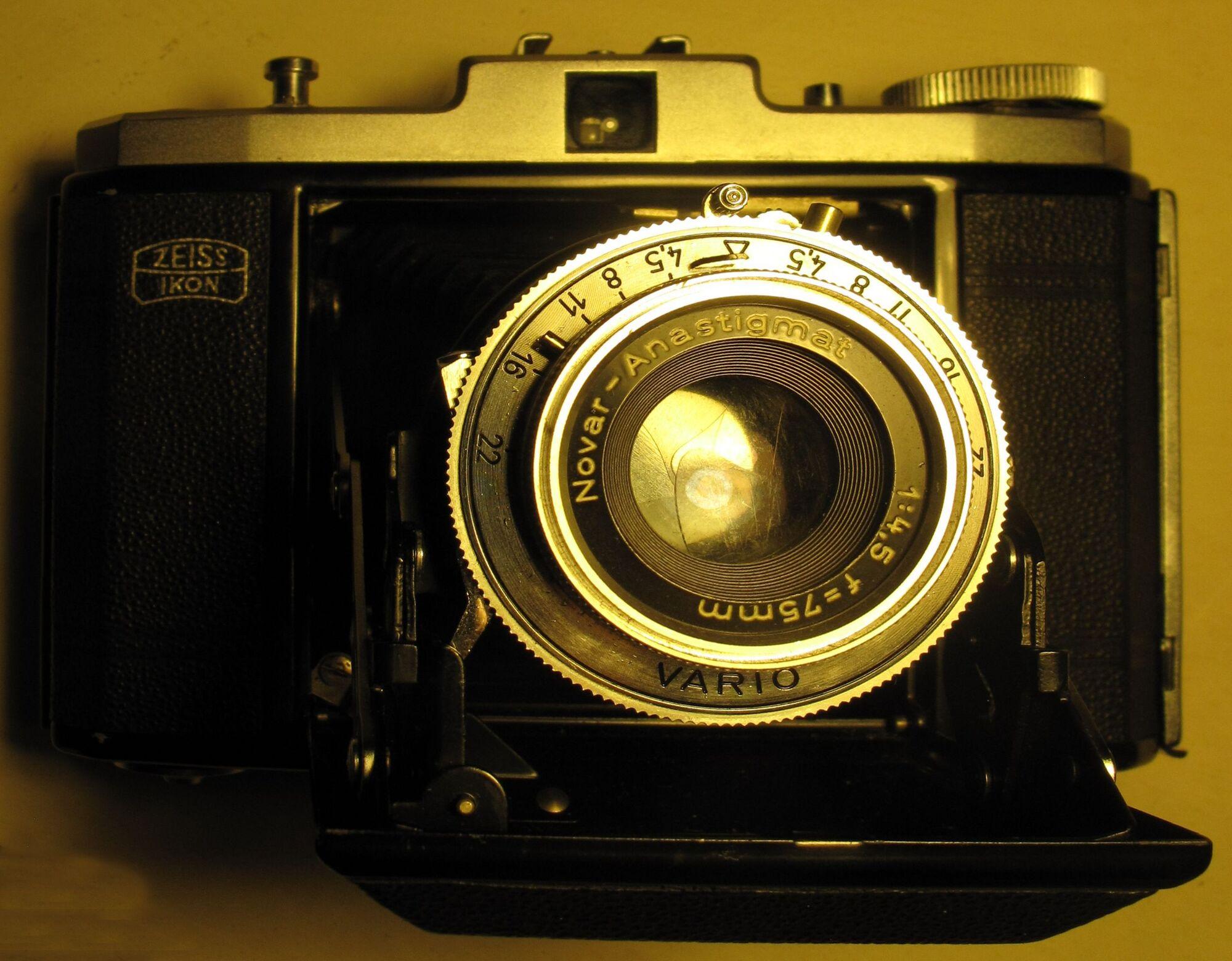 Zeiss Ikon Nettar Shutter Release Assembly | Camerapedia