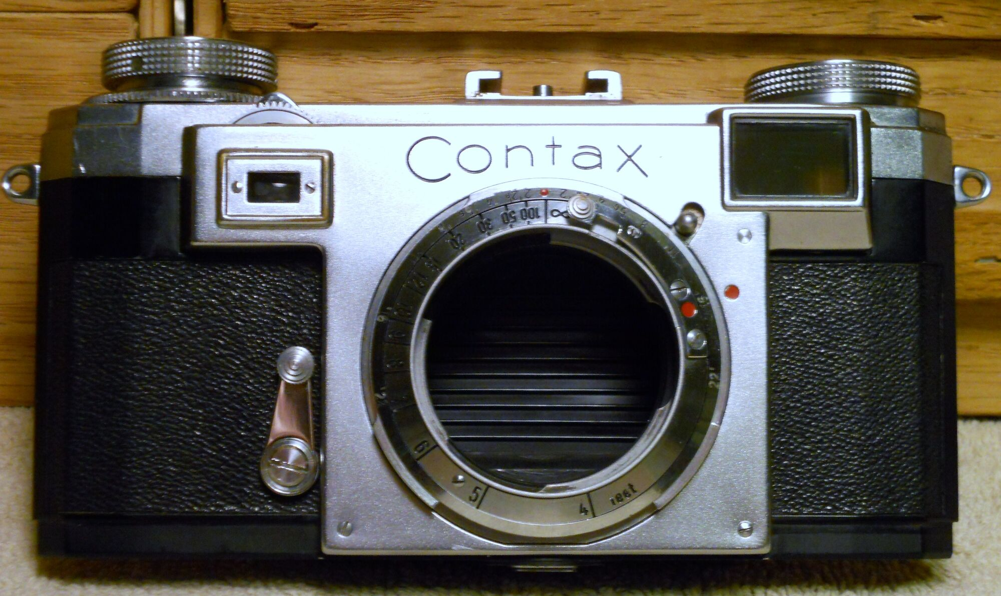 Contax rangefinder | Camerapedia | FANDOM powered by Wikia
