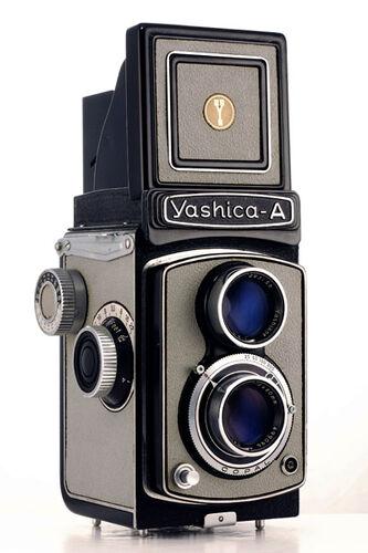 Yashica A Grey