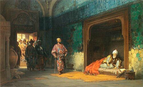 Yıldırım Bayezid, Timur'un elinde esir iken