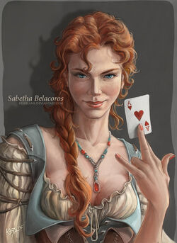 Sabetha belacoros by kejablank