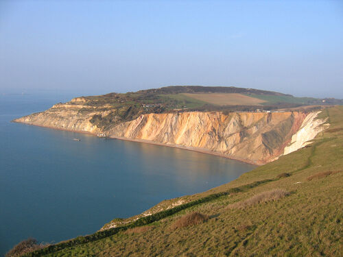 Alum bay geological guide2