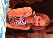 Taylar Henderson with Goodie Girls Cupcake