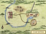 Camp jupiter map