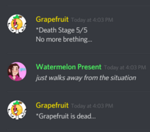 Grapefruit dead