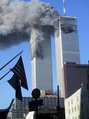 Towers-Burning