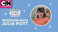 Julia Pott Interview - Summer Camp Island - Cartoon Network