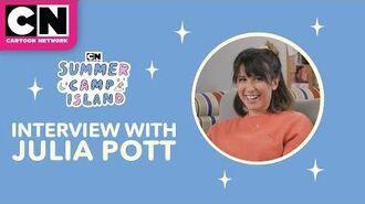 Julia Pott Interview - Summer Camp Island - Cartoon Network