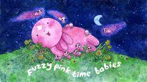 Peludos Bebés Rosas del Tiempo