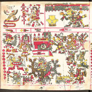 600px-Codex Borgia page 50