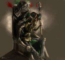 Aztec king by emonteon