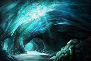 Moonglow cavern by hunqwert-d2z51k9