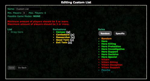 Editingcustomlists