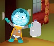 Space Kid Gallon Challenge Success
