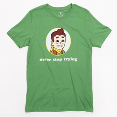David from the Camp Camp David T-shirt