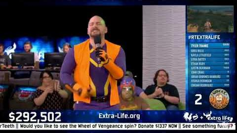 RT Extra Life 2017 - Jeremey Dooley sings the Camp Camp Rap Rap