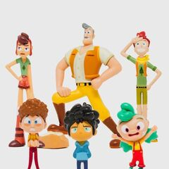 David from the Camp Camp Collectible Mini Figure 6 Pack