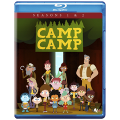 Max from the Camp Camp Seasons 1 & 2 Blu-ray