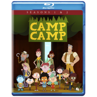 Harrison from the Camp Camp Seasons 1 & 2 Blu-ray