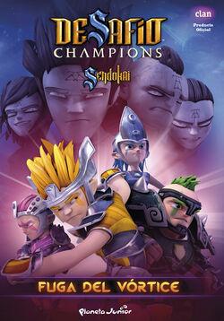 189871 desafio-champions-sendokai-fuga-del-vortice 9788408132066