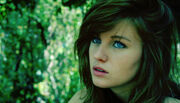 Blue-eyes-brown-hair-girl-green-nature-Favim com-460268-1