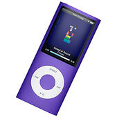 Purple ipod