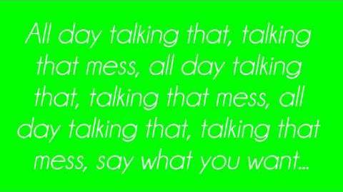Cher Lloyd - Talkin' That (Lyrics)